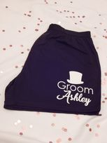 Top Hat, Role & Name Wedding Boxer Shorts